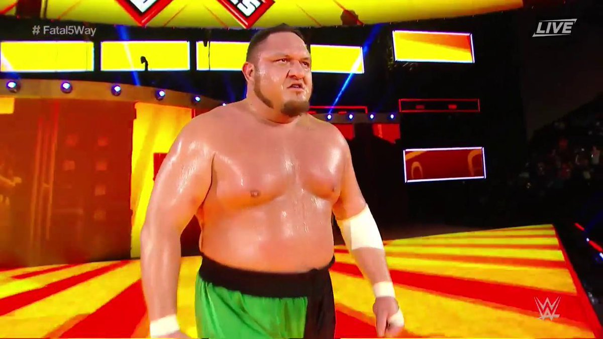 Samoa Joe EXtreme Rules