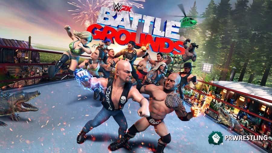 Battle Grounds WWE