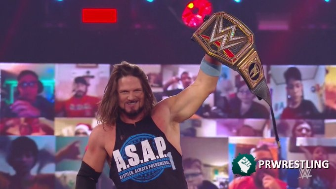Report WWE Raw 12/14 – Cara a cara Styles and McIntyre – PRWrestling